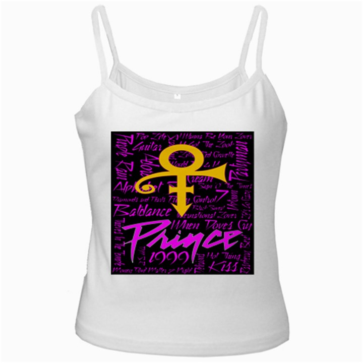 Prince Poster Ladies Camisoles