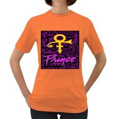 Prince Poster Women s Dark T Shirt