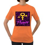 Prince Poster Women s Dark T-Shirt Front