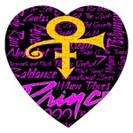 Prince Poster Jigsaw Puzzle (Heart) Front