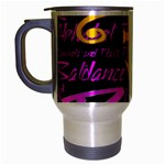 Prince Poster Travel Mug (Silver Gray) Left