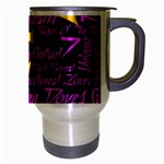 Prince Poster Travel Mug (Silver Gray) Right