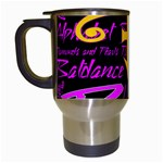 Prince Poster Travel Mugs (White) Left