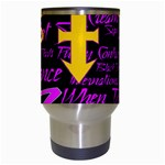 Prince Poster Travel Mugs (White) Center