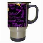 Prince Poster Travel Mugs (White) Right