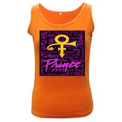 Prince Poster Women s Dark Tank Top