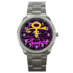 Prince Poster Sport Metal Watch