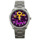 Prince Poster Sport Metal Watch Front