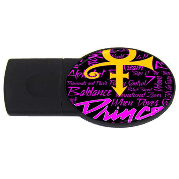Prince Poster USB Flash Drive Oval (4 GB)