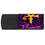 Prince Poster USB Flash Drive Rectangular (4 GB)  Front
