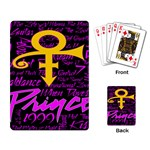 Prince Poster Playing Card Back
