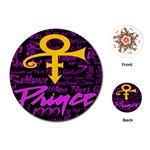 Prince Poster Playing Cards (Round)  Front