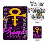 Prince Poster Playing Cards 54 Designs  Front - Joker1