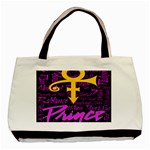 Prince Poster Basic Tote Bag Front