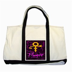 Prince Poster Two Tone Tote Bag