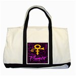 Prince Poster Two Tone Tote Bag Front