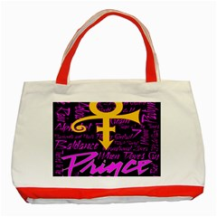 Prince Poster Classic Tote Bag (Red)