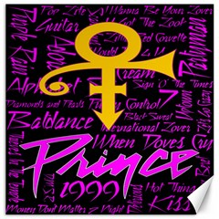 Prince Poster Canvas 20  x 20