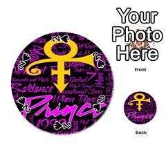 Prince Poster Playing Cards 54 (round)