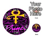 Prince Poster Playing Cards 54 (Round)  Front - Spade2