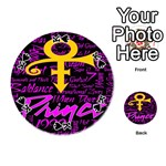 Prince Poster Playing Cards 54 (Round)  Front - SpadeK