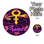 Prince Poster Playing Cards 54 (Round)  Front - Heart4