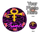 Prince Poster Playing Cards 54 (Round)  Front - Heart10