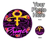 Prince Poster Playing Cards 54 (Round)  Front - HeartQ