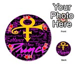 Prince Poster Playing Cards 54 (Round)  Front - HeartK