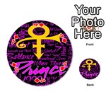 Prince Poster Playing Cards 54 (Round)  Front - Diamond4