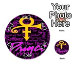 Prince Poster Playing Cards 54 (Round)  Front - Spade5