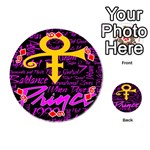 Prince Poster Playing Cards 54 (Round)  Front - Diamond6