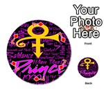 Prince Poster Playing Cards 54 (Round)  Front - Diamond7