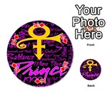 Prince Poster Playing Cards 54 (Round)  Front - DiamondK