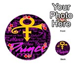 Prince Poster Playing Cards 54 (Round)  Front - DiamondA