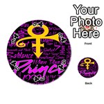 Prince Poster Playing Cards 54 (Round)  Front - Club9