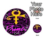 Prince Poster Playing Cards 54 (Round)  Front - Spade7