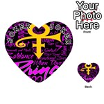 Prince Poster Playing Cards 54 (Heart)  Front - Joker1