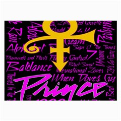 Prince Poster Large Glasses Cloth