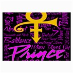 Prince Poster Large Glasses Cloth Front