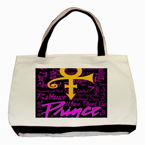 Prince Poster Basic Tote Bag (Two Sides)