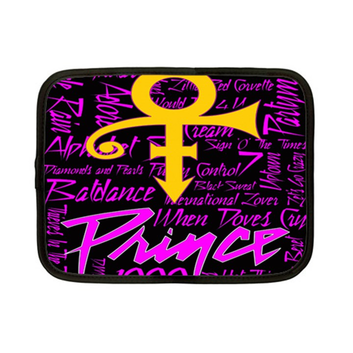 Prince Poster Netbook Case (Small)