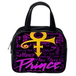 Prince Poster Classic Handbags (One Side) Front