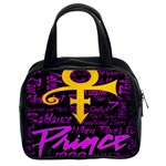 Prince Poster Classic Handbags (2 Sides) Front