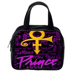 Prince Poster Classic Handbags (2 Sides) Back