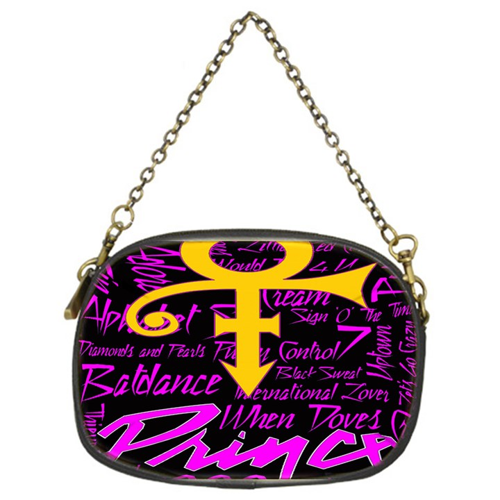 Prince Poster Chain Purses (One Side)
