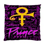 Prince Poster Standard Cushion Case (Two Sides) Back