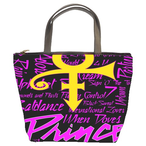 Prince Poster Bucket Bags