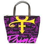 Prince Poster Bucket Bags Front