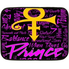 Prince Poster Fleece Blanket (mini)